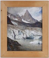 lac glacière du miage, été, mont-blanc by angelo abrate