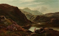 loch scavaig, isle of sky by sidney richard percy