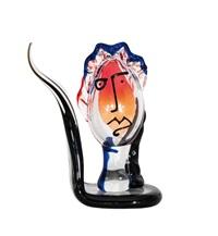 an interesting glass sculpture by mario badioli