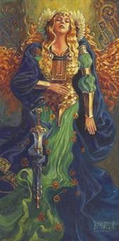 le crépuscule des dieux (title page) by gwendal lemercier