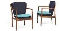 delegates chair (model fj 51) (pair) by finn juhl