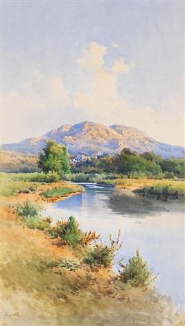 landschaft auf korfu by angelos giallina