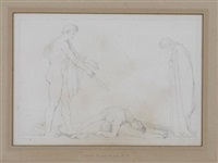 behold the proud oppressors of my country by john flaxman