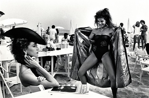 cannes film festival by helmut newton