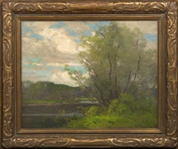 willows by the water by frank charles peyraud