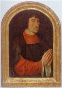 brustporträt karl v. (?) by master of the magdalen legend