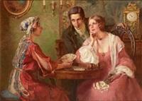 junges paar bei der kartenlegerin by otolia kraszewska