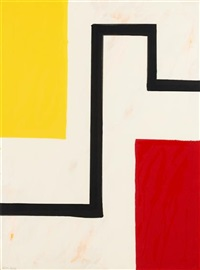 saturday night (+ sunday morning; 2 works) by mary heilmann