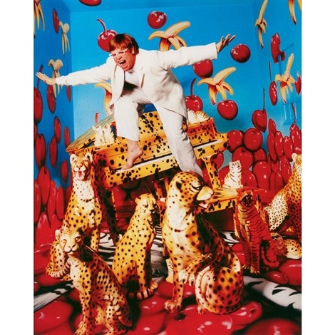 elton john by david lachapelle on artnet. Black Bedroom Furniture Sets. Home Design Ideas