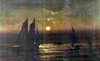 moonlight sailing by d.a. fisher