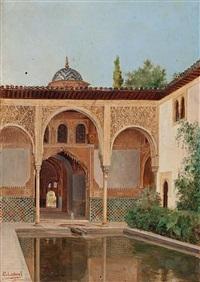 patio de la alhambra by eduardo laforé alfaro