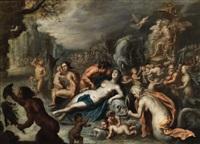 the triumph of amphitrite by simon de vos