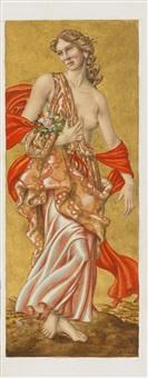 allegorie des frühlings (study) by werner peiner