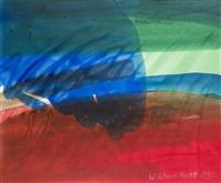 abstrakte komposition sich überlagernder, lasierender farbschichten by willibrord haas