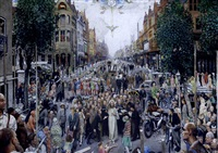 my lord i meet in every london lane and street by mark lancelot symons