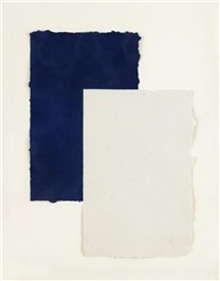 touch (from untitled: kiss, cut, touch and valentine) by mary heilmann