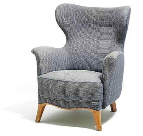 Attrayant High Back Easy Chair By Peder Moos