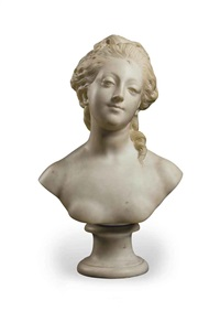 bust of a lady by jean-baptiste pigalle