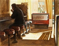 at the counter by ken danby