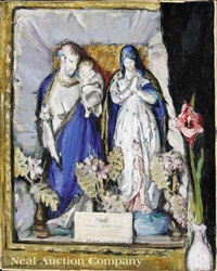 devotional still life: the holy family by anne wilson goldwaite