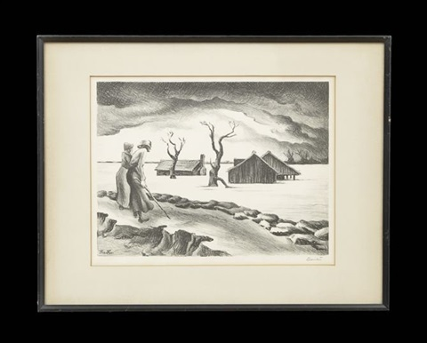 flood by thomas hart benton