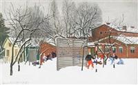 vinter, fogdeskolan by sven ljungberg