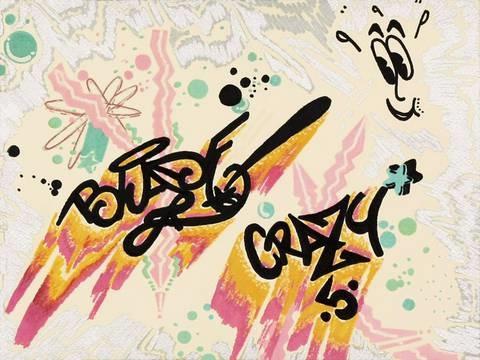 untitled (crazy 5) by blade (steven ogburn)