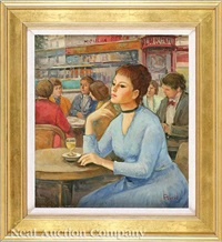 the cafe by madeleine avril