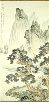 seasonal landscape by chen shaomei