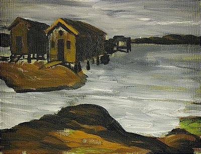 strandbild iii by gunnar loberg