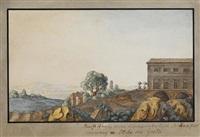 römische villa mit ausblick auf die campagna by johann wolfgang von goethe
