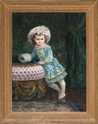 retrato de blanquita by jose llovera bofill