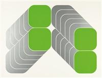 geometrische kompositionen (4 works, some lrgr) by kaspar thomas lenk
