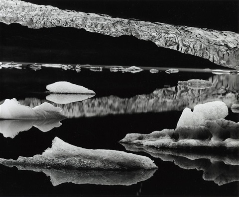 mendenhall glacier by brett weston