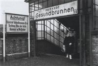 s-bahnhof gesundbrunnen, west-berlin by karl-ludwig lange