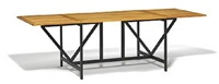 rectangular dining table by arne karlsen