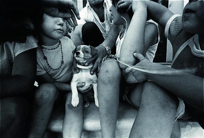 gruppe mit hund by wilfried bauer