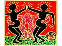 untitled (fertility series, blatt 5) by keith haring