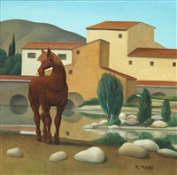 cavallo bruno by roberto masi