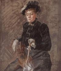 retrato femenino by andres gimeno