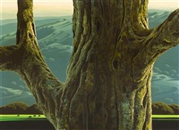 the great oak by eyvind earle