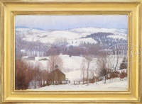 the sugar house in winter by harold c. dunbar