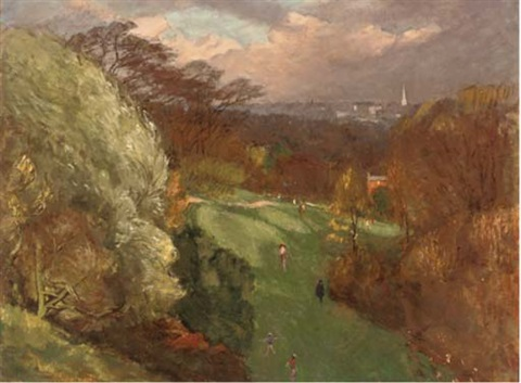 the vale of health hamstead by maurice field