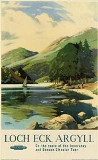 loch eck argyll by frank sherwin