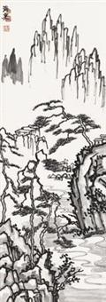 水墨山水 by liu haisu