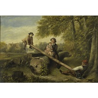 the see-saw by william mulready