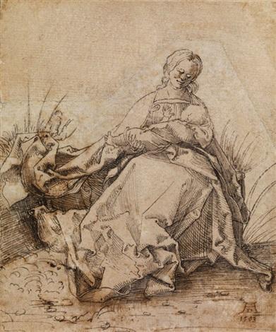madonna mit kind by albrecht dürer