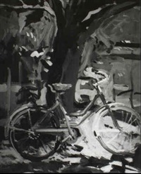 the blue bicycle by geer morton