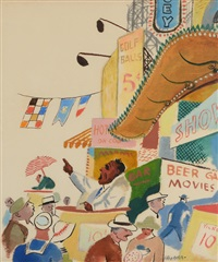 coney island by william gropper