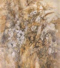 no. 43 of baicao garden series - forever by hu yaqiang